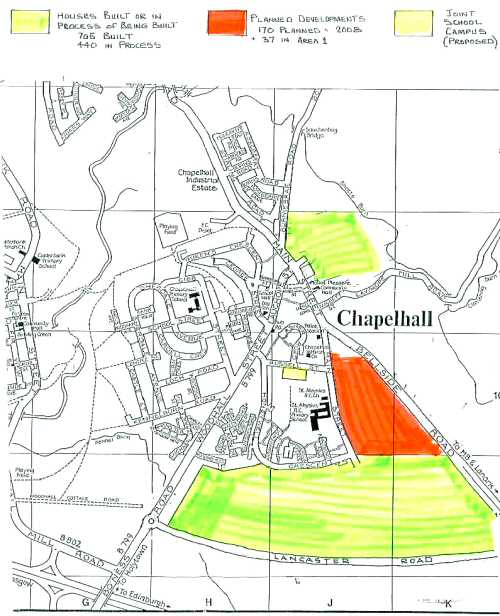 Map of Chapelhall ©